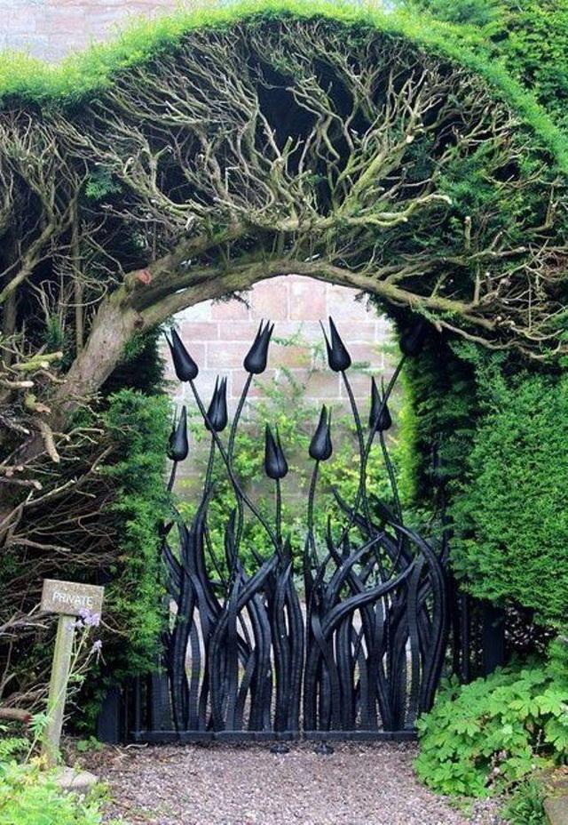 70 beautiful doors and fences ideas (8)