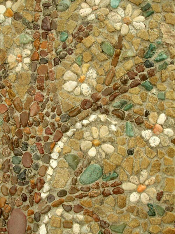 77 stone path ideas for gardening (34)