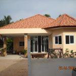 Review : สร้างบ้านชั้นเดียวฉบับประหยัดงบ คุ้มค่า คุ้มราคา เฉลี่ยตารางเมตรละ 4.7 พันบาท