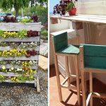 """99 ไอเดีย """"งาน DIY จากไม้"""" สำหรับตกแต่งทั้งภายในบ้านและแต่งสวน"""