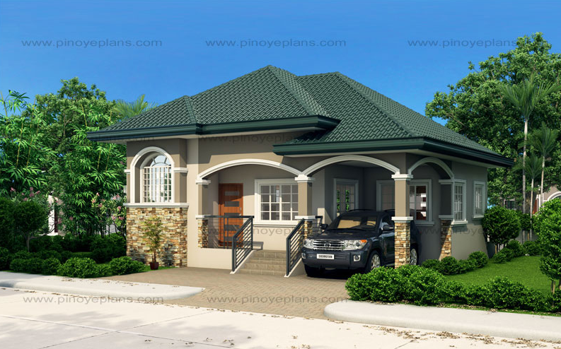 Contemporary House dignity shapes of medium family (1)