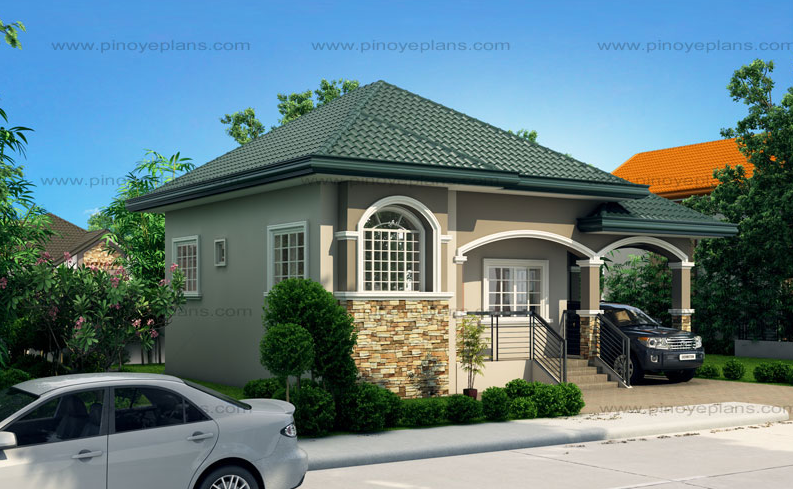 Contemporary House dignity shapes of medium family (2)