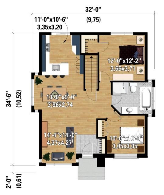 Contemporary home dark tone dignified Design (2)