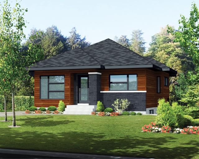 Contemporary home dark tone dignified Design (3)