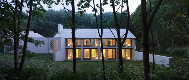 Modern cottages houses Minimalist decor (2)
