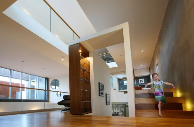 Modern house decor Wood and cement 03 (10)