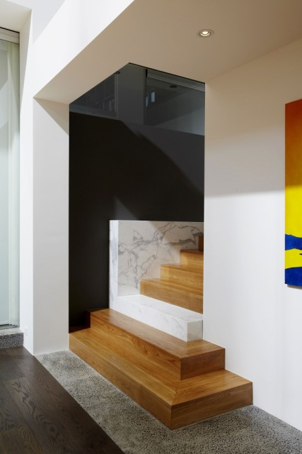 Modern house decor Wood and cement 03 (13)