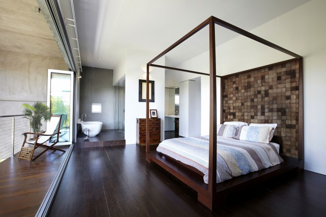 Modern house decor Wood and cement 03 (15)