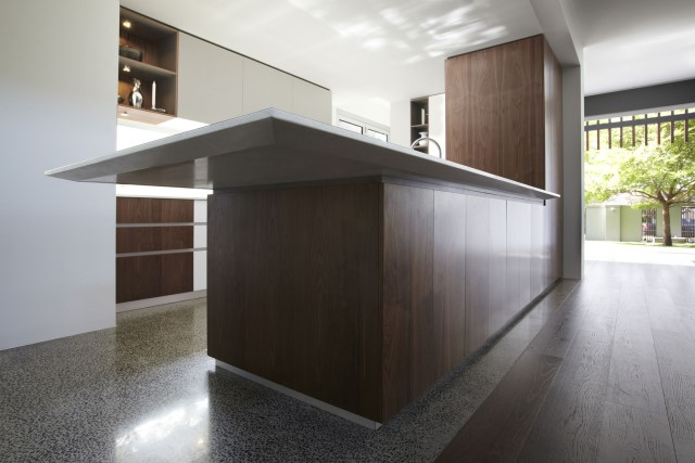 Modern house decor Wood and cement 03 (21)