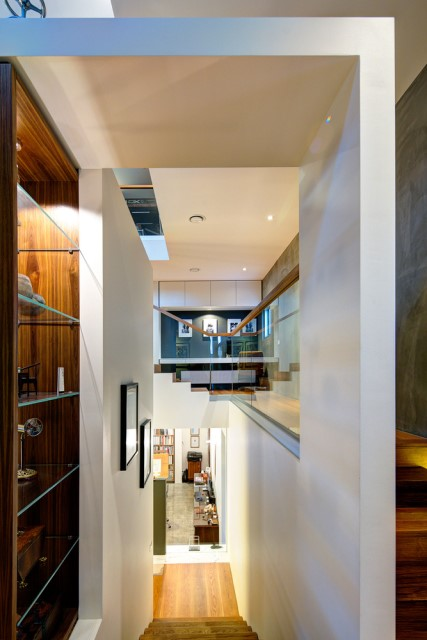 Modern house decor Wood and cement 03 (22)