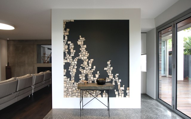 Modern house decor Wood and cement 03 (24)
