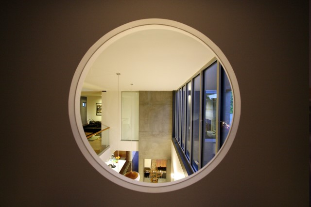 Modern house decor Wood and cement 03 (30)
