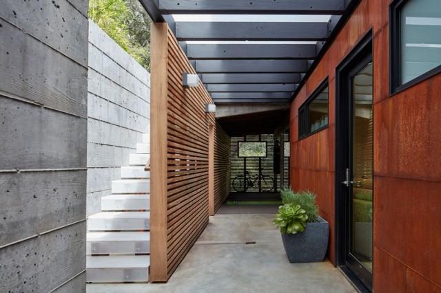 Modern villa wooden cabin style (12)