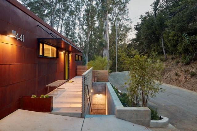 Modern villa wooden cabin style (14)