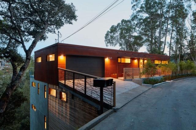 Modern villa wooden cabin style (15)