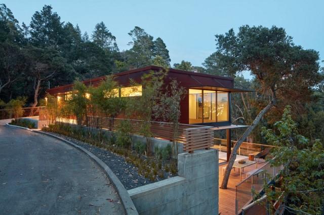 Modern villa wooden cabin style (16)