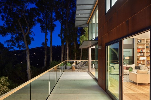 Modern villa wooden cabin style (17)