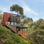 บ้านตากอากาศสไตล์โมเดิร์นเคบิน โครงสร้างเหล็ก และไม้ ความสุขของการพักอาศัย ที่แนบชิดไปกับธรรมชาติ