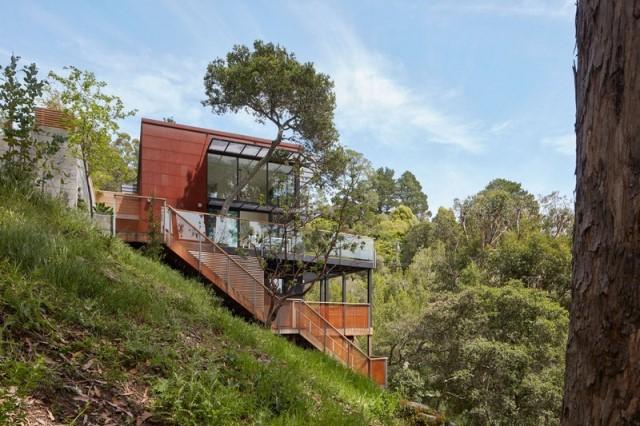 Modern villa wooden cabin style (18)