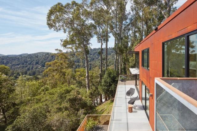 Modern villa wooden cabin style (19)