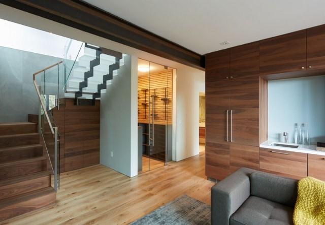 Modern villa wooden cabin style (2)