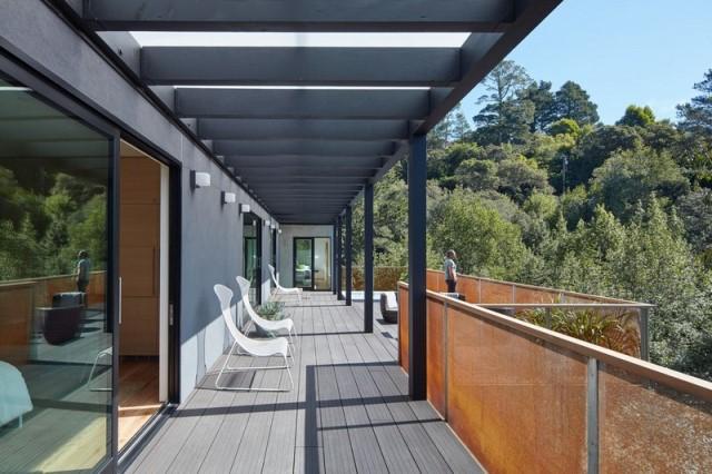 Modern villa wooden cabin style (20)