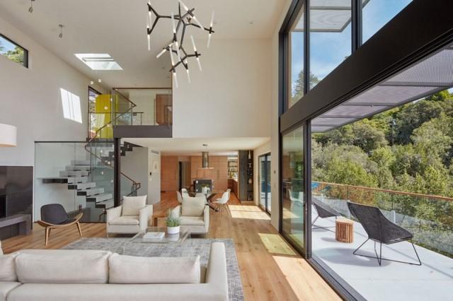 Modern villa wooden cabin style (21)