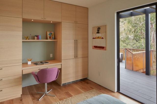 Modern villa wooden cabin style (4)