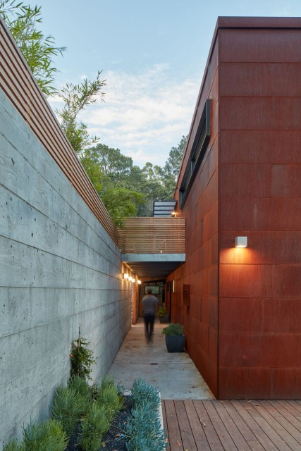 Modern villa wooden cabin style (5)