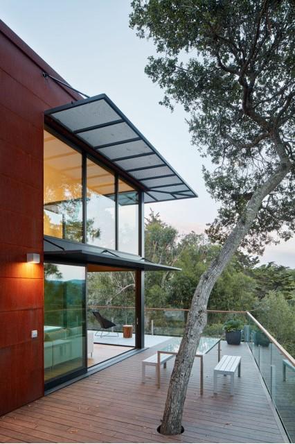 Modern villa wooden cabin style (6)