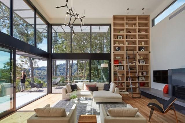Modern villa wooden cabin style (9)