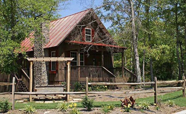 Rustic house With veranda Forest side (7)