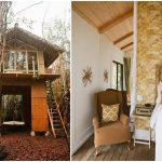 บ้านสวนสไตล์รัสติค หลังคาทรงจั่ว ออกแบบสองชั้น มีพื้นที่พักผ่อนที่อิงแอบธรรมชาติ