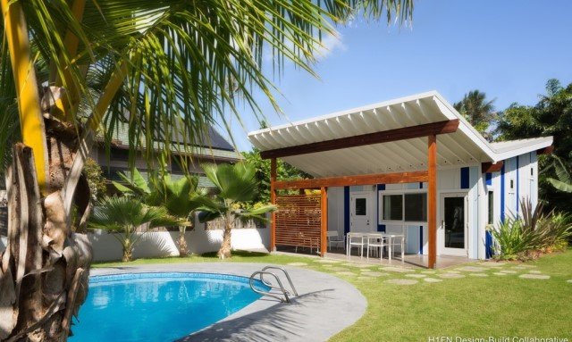 Small house With outdoor relaxation area (4)
