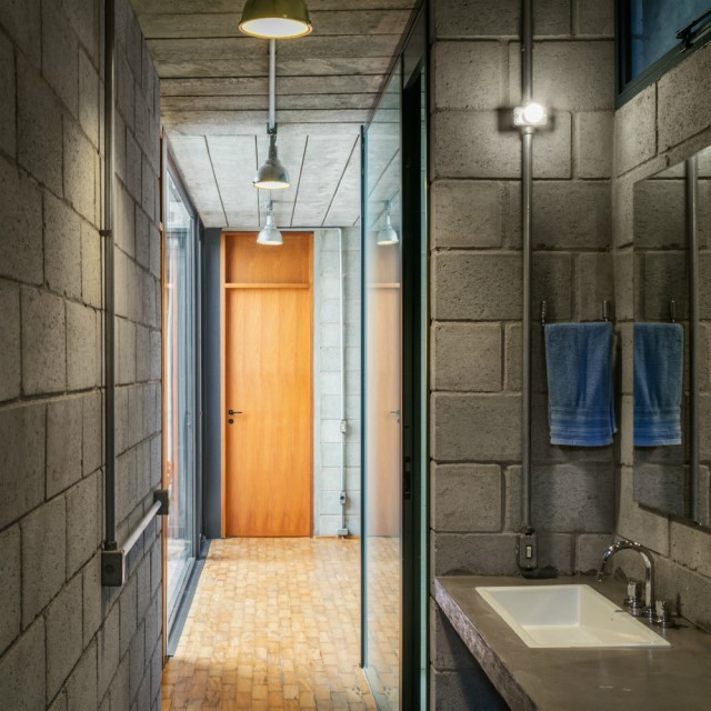 Town House Modern style cement decor (5)