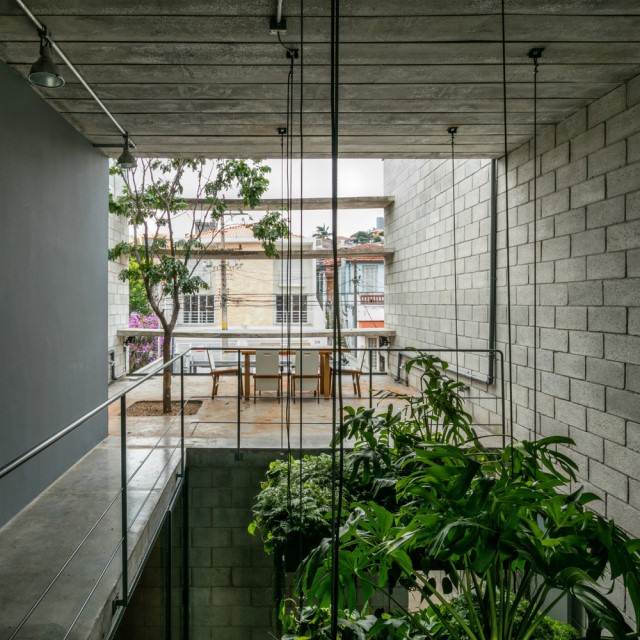 Town House Modern style cement decor (7)
