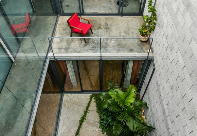 Town House Modern style cement decor (8)