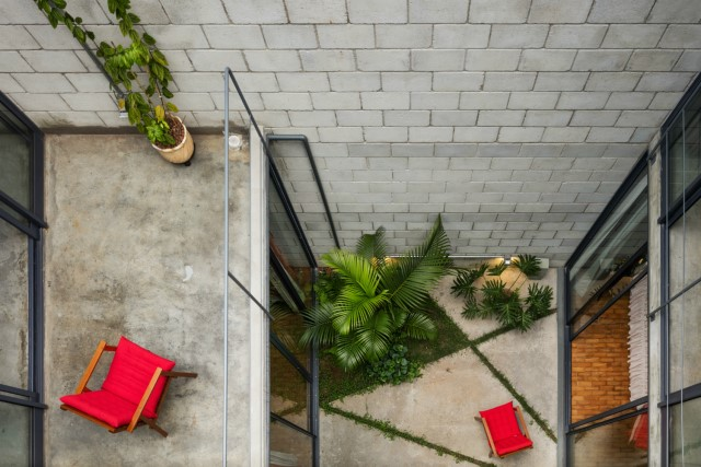 Town House Modern style cement decor (9)