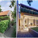 บ้านร่วมสมัยสองชั้น ที่ตกแต่งด้วยไม้ร่วมกับสวนป่า ไอเดียบ้านที่เหมาะกับรสนิยมของคนไทย
