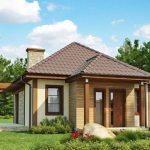 บ้านเดี่ยวสไตล์ร่วมสมัย 1 ห้องนอน 1 ห้องน้ำ อยู่ในงบ 6 แสนบาท