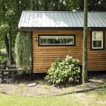กระท่อมท้ายสวน 1 ห้องนอนแบบสตูดิโอ ตกแต่งภายในสวยงาม พร้อมบรรยากาศธรรมชาติรอบบ้าน