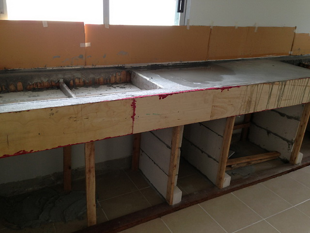 diy concrete kitchen review (3)