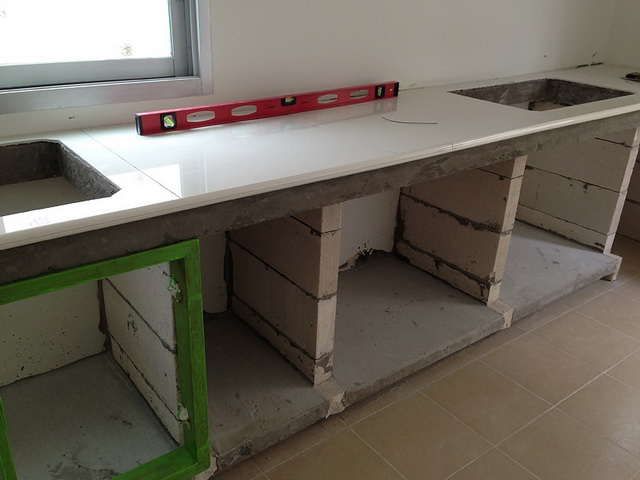 diy concrete kitchen review (8)