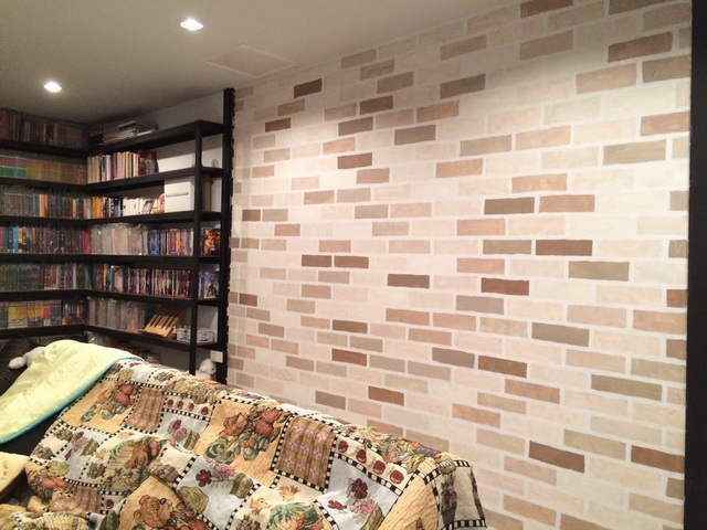faux brick painting diy (11)