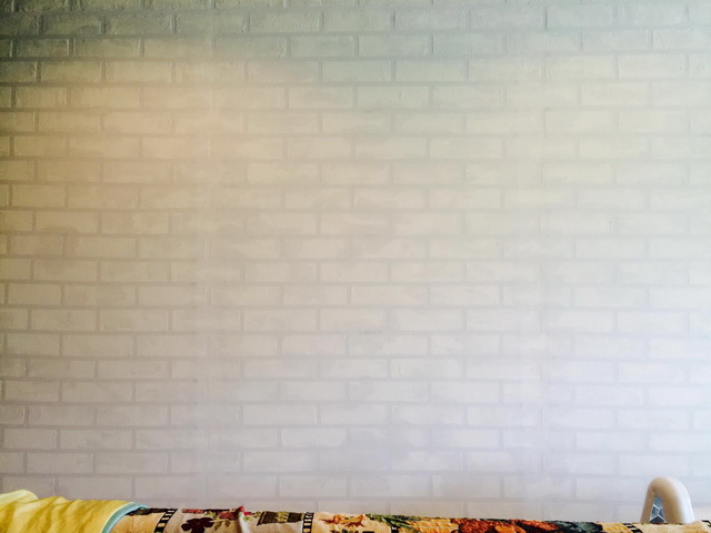 faux brick painting diy (9)