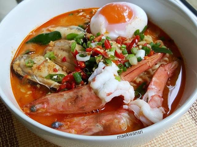 milky spicy noodles recipe (2)