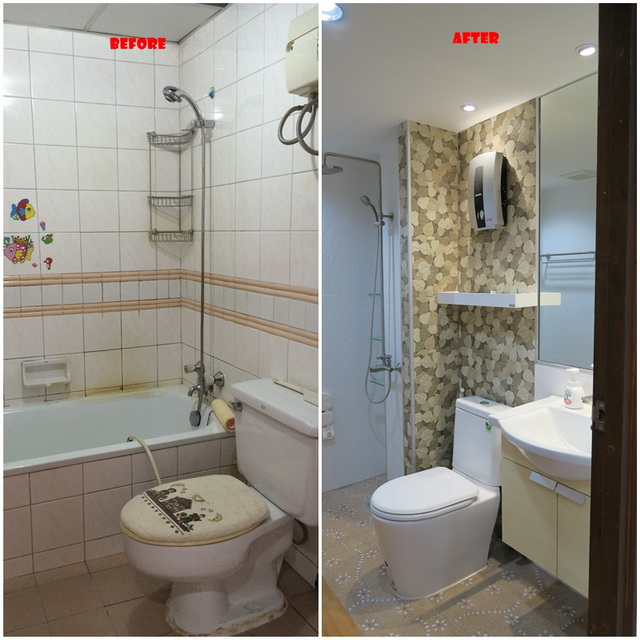 mini restroom renovation review (1)