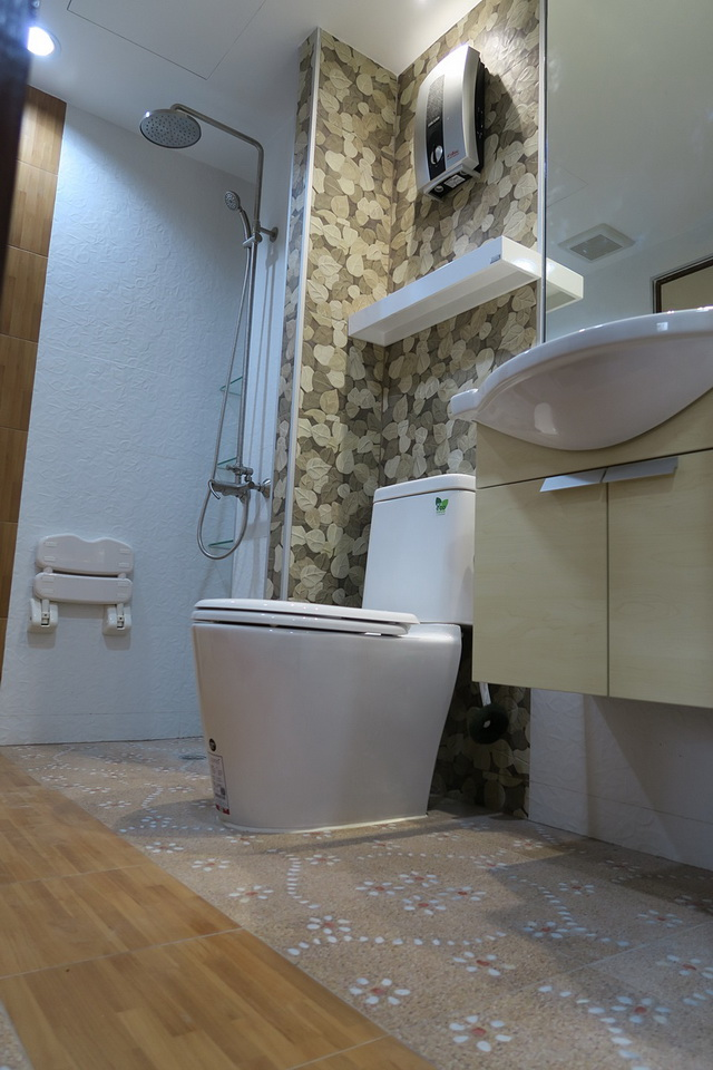 mini restroom renovation review (16)