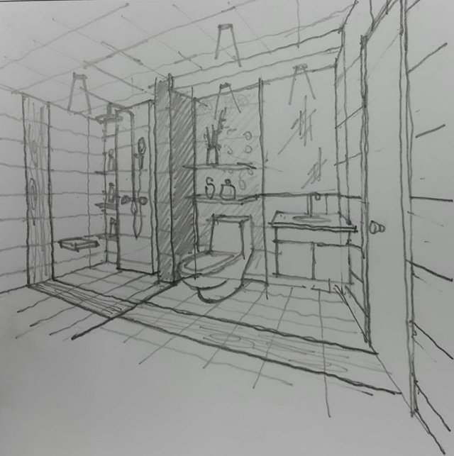 mini restroom renovation review (2)