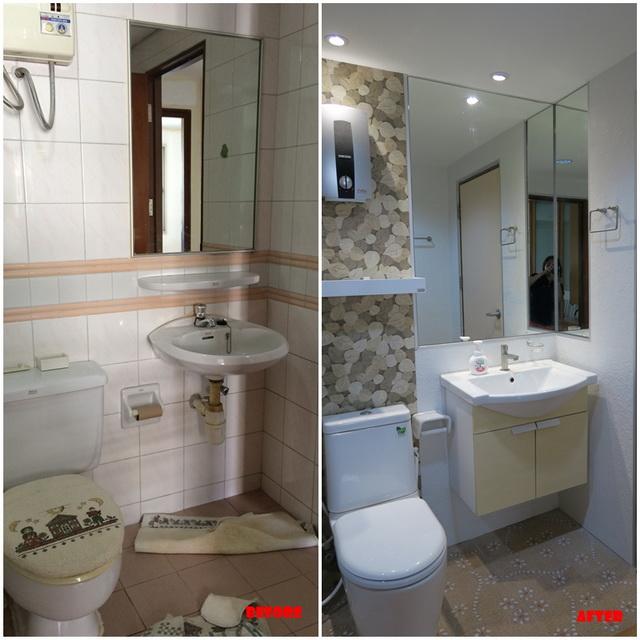 mini restroom renovation review (3)